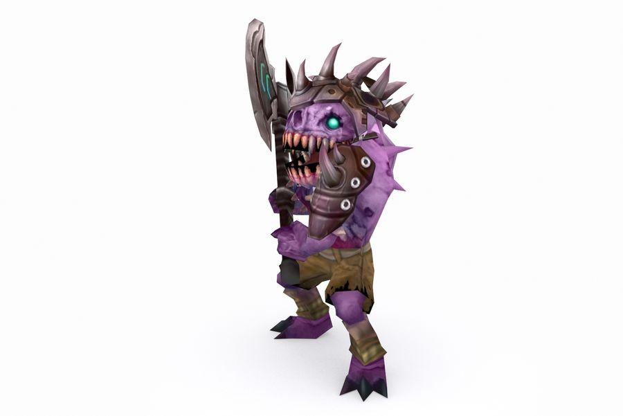 Animierte manipulierte Kreatur Typ D royalty-free 3d model - Preview no. 3