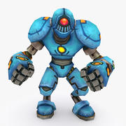 Animated Rigged Robot Type H 3d model