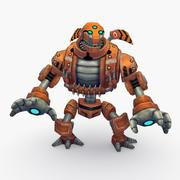Animated Rigged Robot Type I 3d model