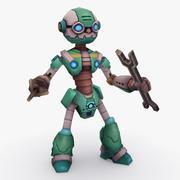 Animasyonlu Arma Robot Tipi K 3d model