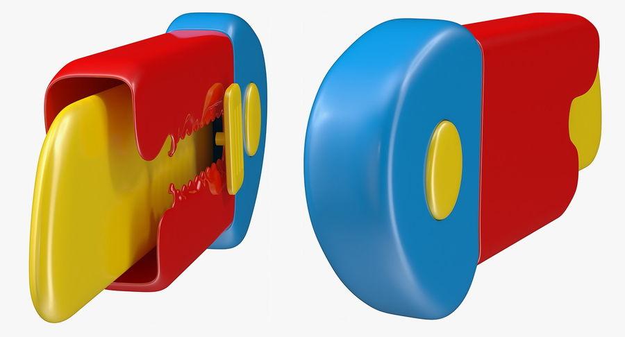 Toy Knife Modèle 3D royalty-free 3d model - Preview no. 7