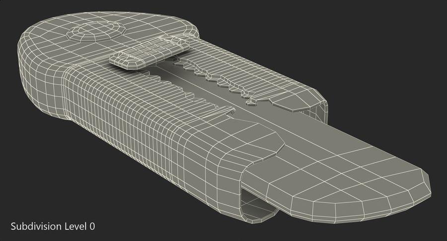 Toy Knife Modèle 3D royalty-free 3d model - Preview no. 9