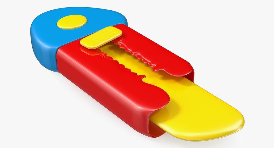Toy Knife Modèle 3D royalty-free 3d model - Preview no. 2