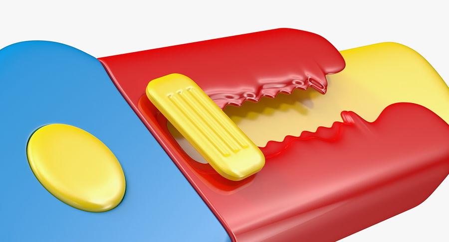 Toy Knife Modèle 3D royalty-free 3d model - Preview no. 8