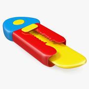 Toy Knife 3D 모델 3d model