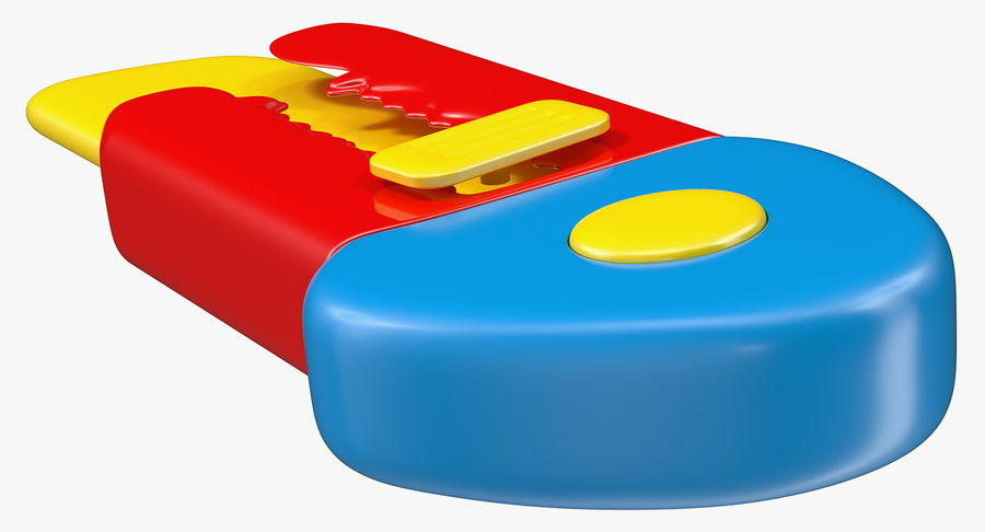 Toy Knife Modèle 3D royalty-free 3d model - Preview no. 6