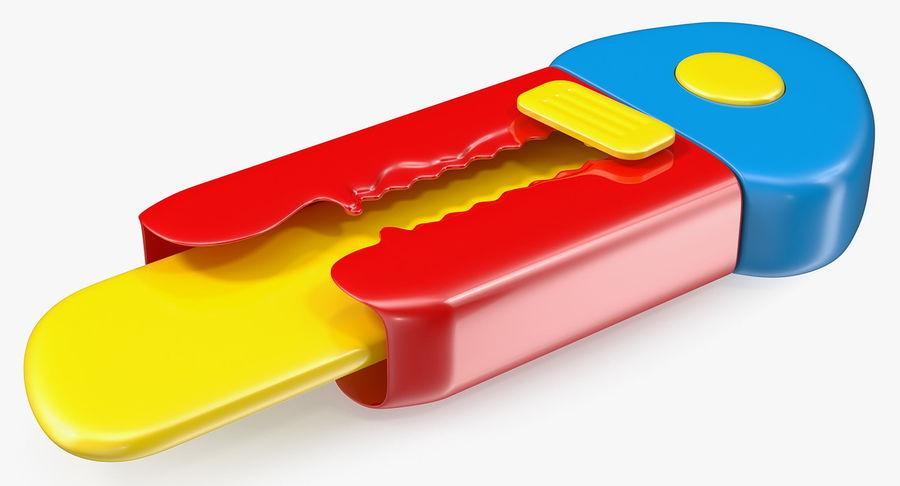 Toy Knife Modèle 3D royalty-free 3d model - Preview no. 4