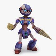 Animasyonlu Arma Robot Tipi L 3d model
