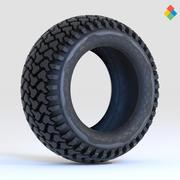 Projeto do pneu da roda 3d model