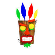 Crash Bandicoot Aku Aku 3d model
