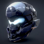 Casque Halo Jameson Locke 3d model