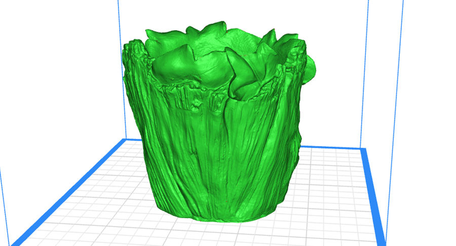 Plant Pot 3d Printed royalty-free 3d model - Preview no. 5