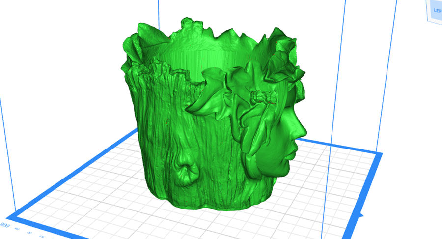 Plant Pot 3d Printed royalty-free 3d model - Preview no. 2