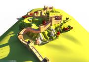 Great Wall 3d model