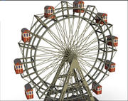 roda gigante 3d model