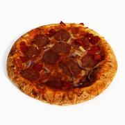 Pizza Diavlo 3d model
