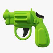 Игрушечный пистолет 3d model