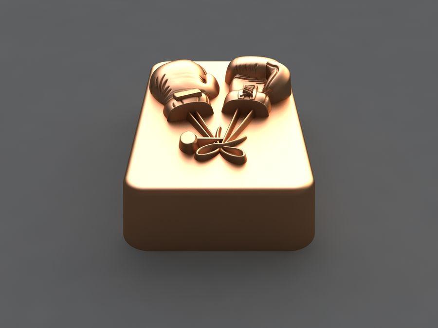 коробка royalty-free 3d model - Preview no. 9