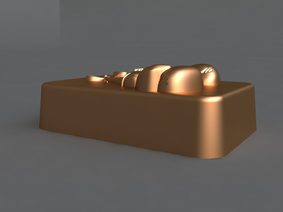 коробка royalty-free 3d model - Preview no. 7