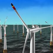 Rüzgar türbini 3d model