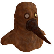 Plague Mask Original 3d model