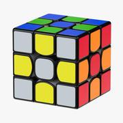 Magic Cube Rubiks 3d model