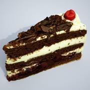 Kremalı pasta 7 3d model