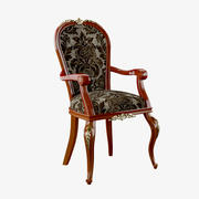Armando Rhoの布張り布張りの椅子 3d model