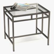 Coffee Table Metal/Glass 003 3d model