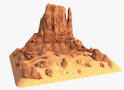 Canyon Rock 3d model
