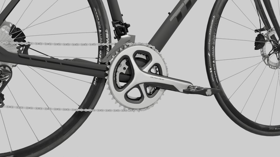 Bike Bicycle royalty-free 3d model - Preview no. 5