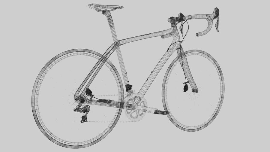 Bike Bicycle royalty-free 3d model - Preview no. 4