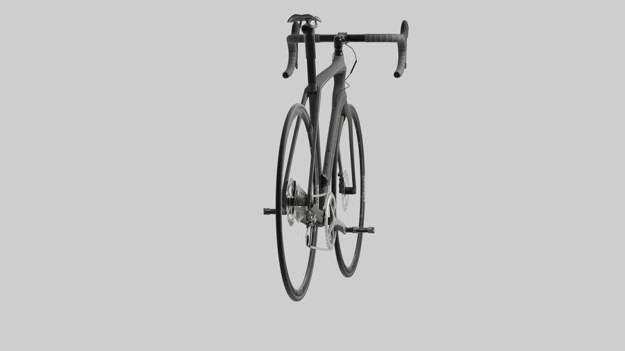 Bike Bicycle royalty-free 3d model - Preview no. 9