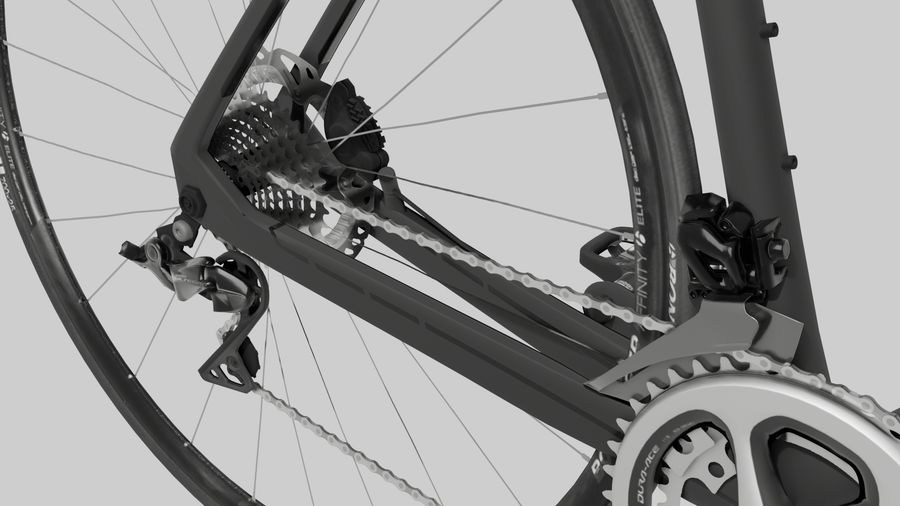 Bike Bicycle royalty-free 3d model - Preview no. 7