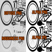 Bicicleta bicicleta 3d model