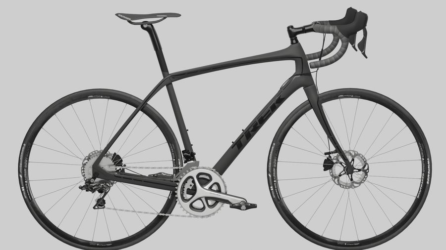 Bike Bicycle royalty-free 3d model - Preview no. 2