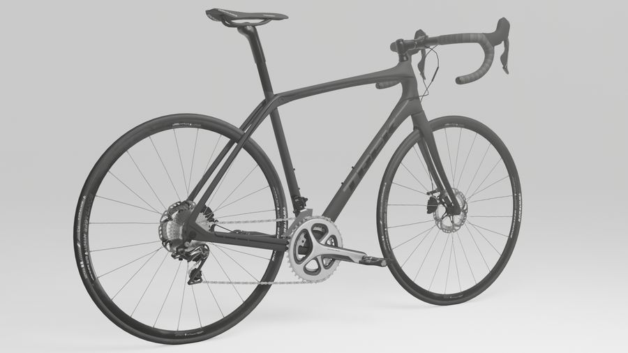 Bike Bicycle royalty-free 3d model - Preview no. 3