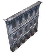 Gammal fasad 3d model
