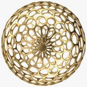 デザインボール 3d model