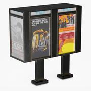 電話ブース4 3d model