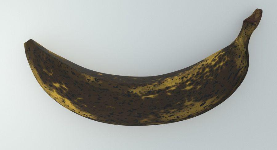 Fruta de plátano realista royalty-free modelo 3d - Preview no. 13