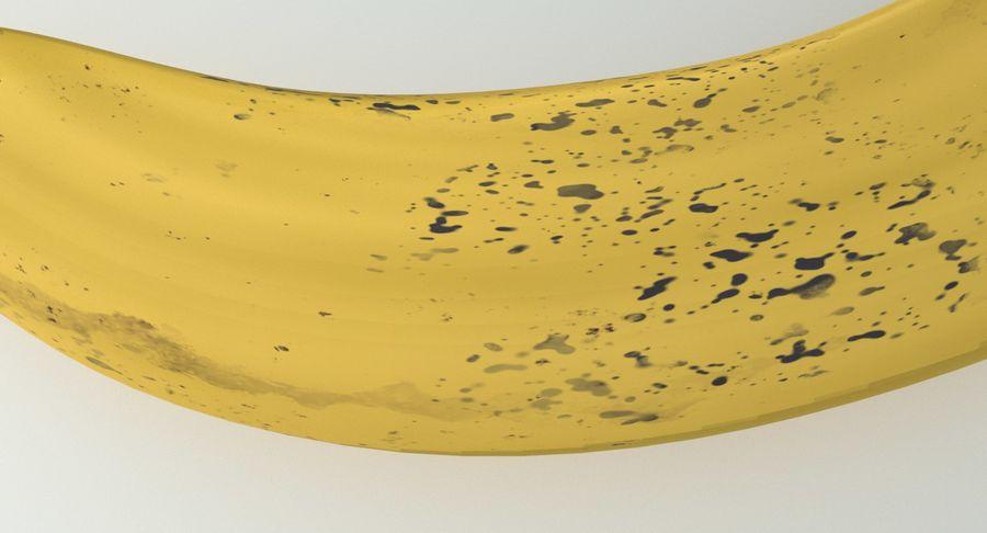 Fruta de plátano realista royalty-free modelo 3d - Preview no. 9