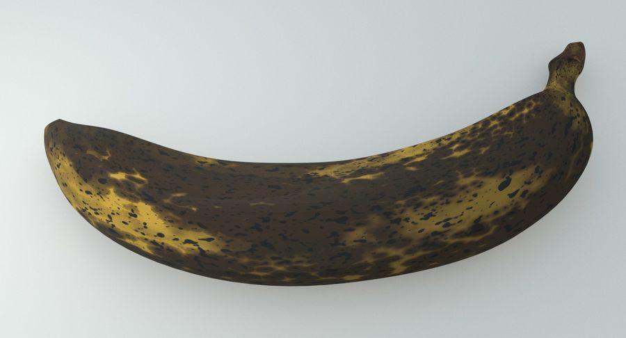 Fruta de plátano realista royalty-free modelo 3d - Preview no. 12