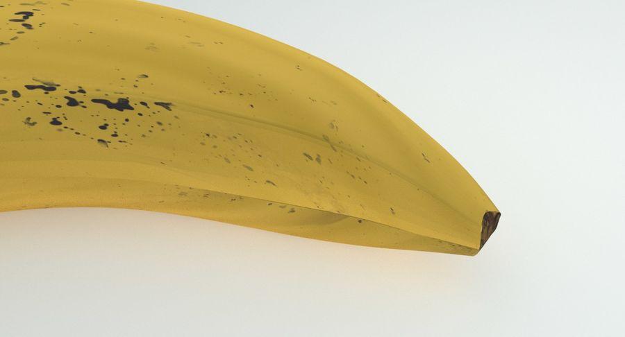 Fruta de plátano realista royalty-free modelo 3d - Preview no. 8