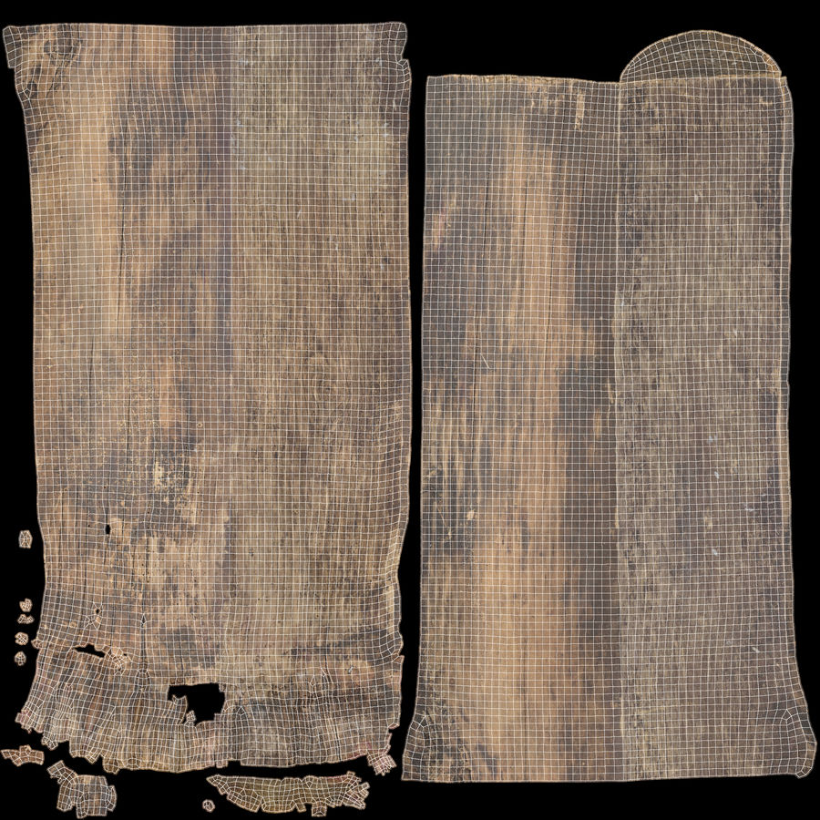 Plank Dark royalty-free 3d model - Preview no. 23