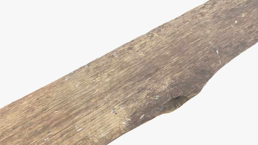 Plank Dark royalty-free 3d model - Preview no. 15
