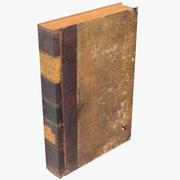 クラシックブック03 3d model