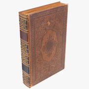 Classic Old Book 01 3d model