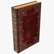 Klassisk bok 05 3d model