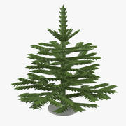 Christmas Toy Fir Tree 3d model